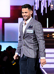 Andrew Brady enters the house during the Celebrity Big Brother Men's Launch held at Elstree Studios in Borehamwood, Hertfordshire. PRESS ASSOCIATION Photo. Picture date: Friday January 5, 2018. See PA story SHOWBIZ CBB Housemates. Photo credit should read: Ian West/PA Wire