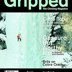 Brent Peters on the cover of Gripped, December 2013, from Kemosabe, WI5 in the North Ghost