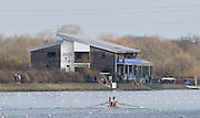 Caversham  Great Britain.<br /> GBR M2-, Tom RANSLEY and Scott DURANT on the course at the  2016 GBR Rowing Team Olympic Trials GBR Rowing Training Centre, Nr Reading  England.<br /> <br /> Tuesday  22/03/2016 <br /> <br /> [Mandatory Credit; Peter Spurrier/Intersport-images]