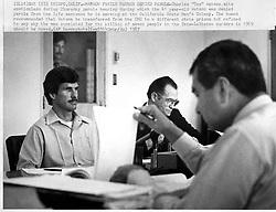 Jan 01, 1987 - San Luis Obispo, California, U.S. - San Luis Obispo, California, U.S. - An emotionless CHARLES TEX WATSON at a 1987 parole hearing. Photo taken in 1978, exact date unknown..(Credit Image: © Dan Parker/The Tribune/ZUMAPRESS.com)