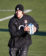 Picture by Andrew Tobin/Focus Images Ltd. 07710 761829.. 2/2/12. Tom Palmer in action during the England team training session held for the first time at Surrey Sports Park, Guildford, UK, before their 6-Nations game against Scotland