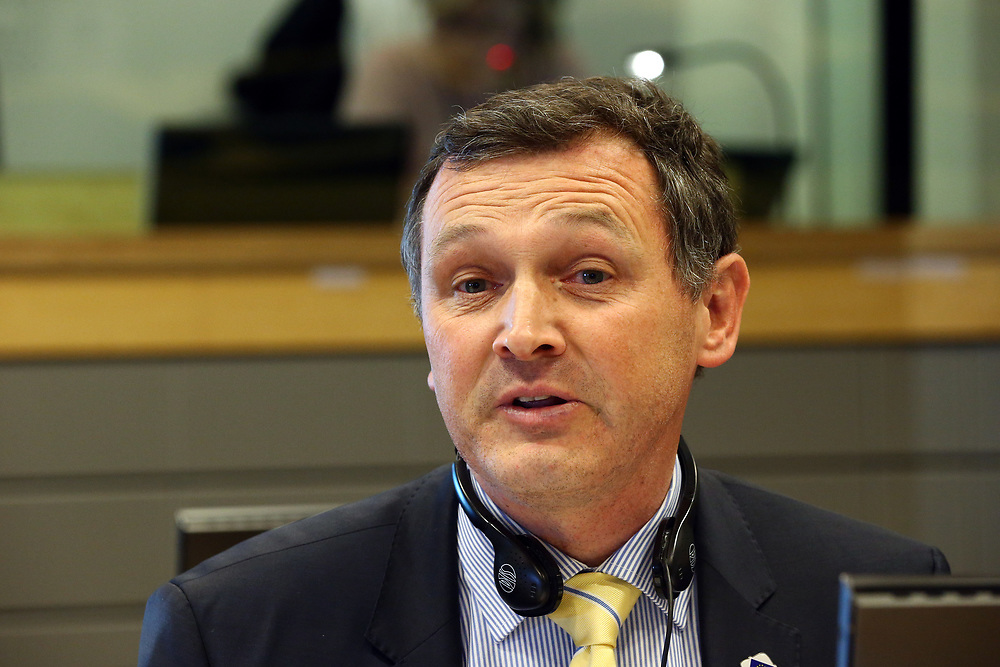 11 May 2017, ECR Group meeting<br /> Belgium - Brussels - May 2017 <br /> <br /> VANLOUWE, Karl Member of the Flemish Parliament, Belgium<br /> <br /> © European Union / Patrick Mascart