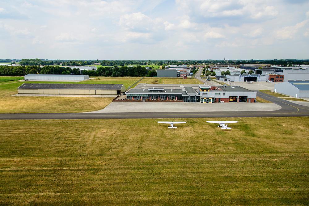 Nederland, Noord-Brabant, Gemeente Cranendonck, 26-06-2014; Kempen Airport of Luchthaven Budel.<br /> luchtfoto (toeslag op standaard tarieven);<br /> aerial photo (additional fee required);<br /> copyright foto/photo Siebe Swart.