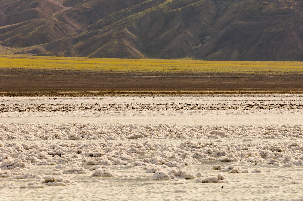 Badwater salt flat,, Death Valley National Park, California, USA