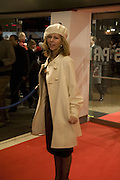 KATE GARROWAY, European Film premiere of Sweeny Todd,  Odeon Leicester Sq. and party afterwards at the Royal Courts of Justice. 10 January 2008. -DO NOT ARCHIVE-© Copyright Photograph by Dafydd Jones. 248 Clapham Rd. London SW9 0PZ. Tel 0207 820 0771. www.dafjones.com.