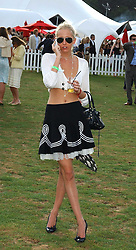 The HON.SOPHIA HESKETH at the 2005 Cartier International Polo between England & Australia held at Guards Polo Club, Smith's Lawn, Windsor Great Park, Berkshire on 24th July 2005.<br /><br />NON EXCLUSIVE - WORLD RIGHTS