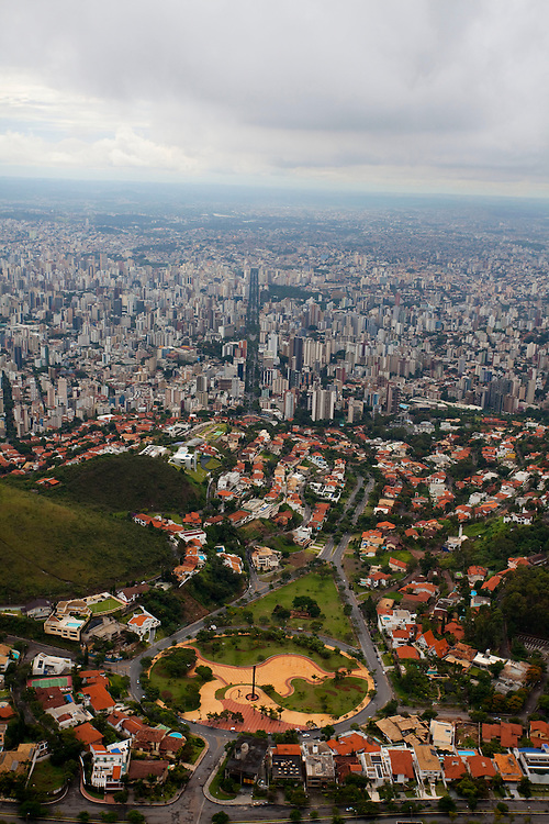 Belo Horizonte_MG, Brasil...Na foto a praca do papa em Belo Horizonte, Minas Gerais...In the photo the Papa square in Belo Horizonte, Minas Gerais...Foto: LEO DRUMOND / NITRO