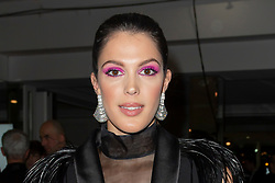 Iris Mittenaere attends the 17th 'Diner De La Mode' as part of Paris Fashion Week on January 24, 2019 in Paris, France.