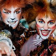 NLD/Rotterdam/20180423 - Perspresentatie Musicals aan de Maas, Oliver Ramsdale en Megan Armstrong van de musical Cats