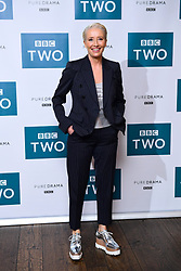 Emma Thompson attending the BBC screening of King Lear held at The Soho Hotel, London.
