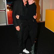 NLD/Amsterdam/20110713 - AIFW 2011 Summer, show Tony Cohen, Ilja Visser en partner
