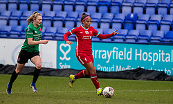 BIRKENHEAD, ENGLAND - Sunday, March 14, 2021: Liverpool's Taylor Hinds during the FA Women's Championship game between Liverpool FC Women and Coventry United Ladies FC at Prenton Park. Liverpool won 5-0. (Pic by David Rawcliffe/Propaganda)