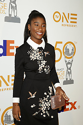 March 9, 2019 - Los Angeles, CA, USA - LOS ANGELES - MAR 9:  Lyric Ross at the 50th NAACP Image Awards Nominees Luncheon at the Loews Hollywood Hotel on March 9, 2019 in Los Angeles, CA (Credit Image: © Kay Blake/ZUMA Wire)