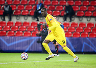 Goalkeeper of Stade Rennais Alfred Gomis during the UEFA Champions League, Group E football match between Stade Rennais and Chelsea on November 24, 2020 at Roazhon Park in Rennes, France - Photo Jean Catuffe / ProSportsImages / DPPI