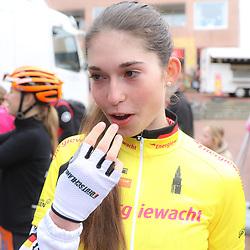 09-04-2016: Wielrennen: Energiewachttour vrouwen: Zuidhorn<br />Christa Riffel (GER) overall GC winner Energiewachttour women junior 2016