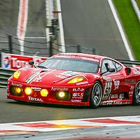 #50 Ferrari F430 GTC #2622,  AF Corse, driven by: Jaime Melo (BR)/Toni Vilander (SF)/Gianmaria Bruni (I)/Mika Salo (SF) at the 24H of Spa 2008