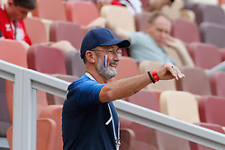 Father of Antoine Griezmann, Alain Griezmann during the 2018 FIFA World Cup Russia game, France vs Denmark in Luznhiki Stadium, Moscow, Russia on June 26, 2018. France and Denmark drew 0-0. Photo by Henri Szwarc/ABACAPRESS.COM