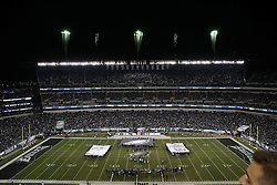 Philadelphia Eagles Alumni Brian Westbrook and Maxie Baughan are inducted into the Eagles Hall of Fame at half time of the NFL game between the Philadelphia Eagles and the New York Giants at Lincoln Financial Field in Philadelphia on Monday, September 19th 2015. The Eagles won 27-7. (Brian Garfinkel/Philadelphia Eagles)