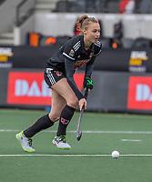 AMSTELVEEN - Marijn Veen (Adam)  tijdens de halve finale wedstrijd dames EURO HOCKEY LEAGUE (EHL),  Amsterdam-HC Den Bosch. (1-1) Den Bosch wint shoot outs en plaats zich voor de finale.  COPYRIGHT  KOEN SUYK