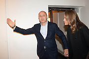 OMER TUNCHEA; NINA RUNSDORF, Opening of Morris Lewis: Cyprien Gaillard. From Wings to Fins, Sprüth Magers London Grafton St. London. Afterwards dinner at Simpson's-in-the-Strand hosted by Monika Spruth and Philomene Magers.