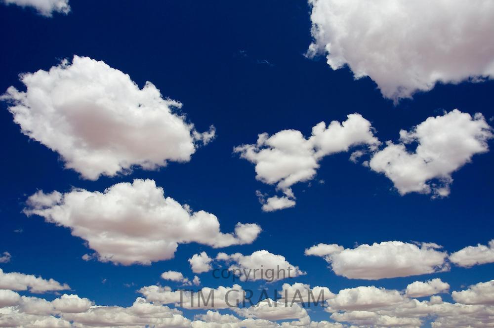 Cumulus clouds, Australia
