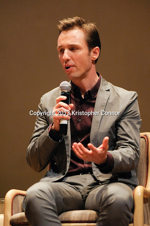 """WASHINGTON, DC - NOVEMBER 7: Author Markus Zusak attends the premiere of """"The Book Thief,"""" sponsored by the US Holocaust Museum at the United States Holocaust Memorial Museum on November 7, 2013 in Washington, DC. (Photo by Kris Connor/20th Century Fox)"""