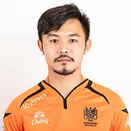 THAILAND - JUNE 24: Satsanapong Wattayuchutikul #35 of Ratchaburi Mitr Phol FC on June 24, 2019.<br /> .<br /> .<br /> .<br /> (Photo by: Naratip Golf Srisupab/SEALs Sports Images/MB Media Solutions)