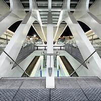 Liege-Guillemins Railway Station