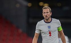 Harry Kane (England) under UEFA Nations League kampen mellem Danmark og England den 8. september 2020 i Parken, København (Foto: Claus Birch).