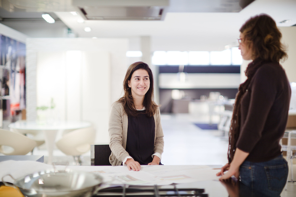 08 NOV 2010 - Biancade di Roncade (TV) - Denise Archiutti, group controller di Veneta Cucine
