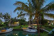 Twilight, Kaneohe Bay, Oahu, Hawaii