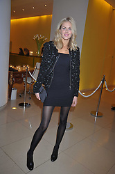 DONNA AIR at the St.Martins Lane Hotel 10th year bash held on 9th September 2009.