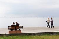 Turquie, Istanbul, mer de Marmara, traffic maritime // Turkey, Istanbul, Marmara sea