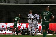 *** during the Europa League match between Rio Ave FC and AC Milan at Estadio dos Arcos, Vila do Conde, Portugal on 1 October 2020.
