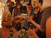 Wolf & Badger - pop-up store launch party. Wonder Room, Selfridges, 13 August 2010. -DO NOT ARCHIVE-© Copyright Photograph by Dafydd Jones. 248 Clapham Rd. London SW9 0PZ. Tel 0207 820 0771. www.dafjones.com.