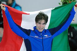 11-02-2006 SCHAATSEN:OLYMPISCHE WINTERSPELEN: 5000 METER HEREN: TORINO<br /> Enrico Fabris (ITA)<br /> ©2006-Ronald Hoogendoorn
