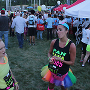 The Great Glow Run Raleigh was held Friday May 16, 2014 at Midtown Park at North Hills in Raleigh, N.C.  (Jason A. Frizzelle)