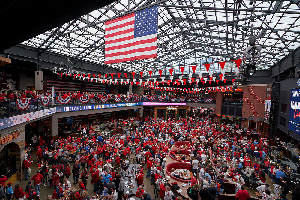 St. Louis Cardinals Opening Day on April 5, 2019.