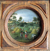 Painting called 'The Four Seasons - Summer' 1616. Abel Gimmer