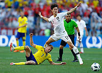 Heungmin Son (Korea Republic) and Jaesung Lee (Korea Republic)<br /> Nizhny Novgorod 16-06-2018 Football FIFA World Cup Russia  2018 <br /> Sweden - South Korea / Svezia - Corea del Sud <br /> Foto Matteo Ciambelli/Insidefoto