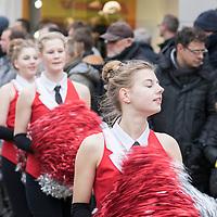 Jaarlijkse carnavalsoptocht in Sneek georganiseerd door Carnavalsvereniging De Oeletoeters.
