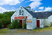 O'Connors disused shop business for sale at Annageragh near Creegh, County Clare, West of Ireland
