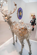 Kohei Nawa, Pixel Deer #46, and a work by Leo Villareal (behind) in the Pace Gallery - Frieze London is one of the few fairs to focus only on contemporary art and living artists.It features more than 160 of the world's leading galleries selling art from over 1,000 of today's leading artists. The fair also includes Frieze Projects and Talks programmes and is open to the public 6-9 October.