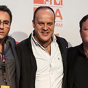 NLD/Amsterdam/20131109 - Pressconference MTV EMA 2013, Bruce Gillmer, Richard Godfrey and ..........