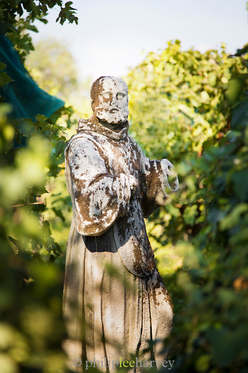 Statue in the grounds of Cathedral of Santa Maria Assunta (Cattedrale di Santa Maria Assunta), Island of Torcello, Venice, Italy, Europe
