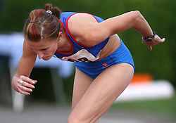 Sonja Roman at Athletic National Championship of Slovenia, on July 20, 2008, in Stadium Poljane, Maribor, Slovenia. (Photo by Vid Ponikvar / Sportal Images).