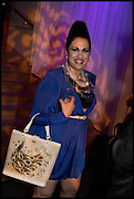 Bishnu Priya, Andrew Logan's Alternative Miss World 2014. Shakespeare's Globe, London. 18 October 2014.
