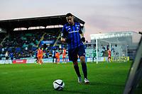 Fotball , Tippeligaen , Eliteserien <br /> Lørdag 17. oktober , 20151017<br /> Stabæk - Aalesund <br /> Yassine El Ghannasy - Stabæk <br /> Foto: Sjur Stølen / Digitalsport