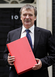 © Licensed to London News Pictures. 15/09/2011. London, United Kingdom .Alan Whitehead MP Southampton..Petition being delivered to No.10 Downing Street by a coalition of politicians and business leaders against Liverpool's cruise terminal proposal..Photo credit : Chris Winter/LNP