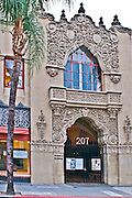 Historical Santora Arts Building in Downtown Santa Ana